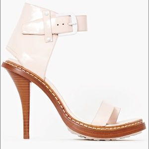 Phillip Lim Patent-leather Sandal Heel